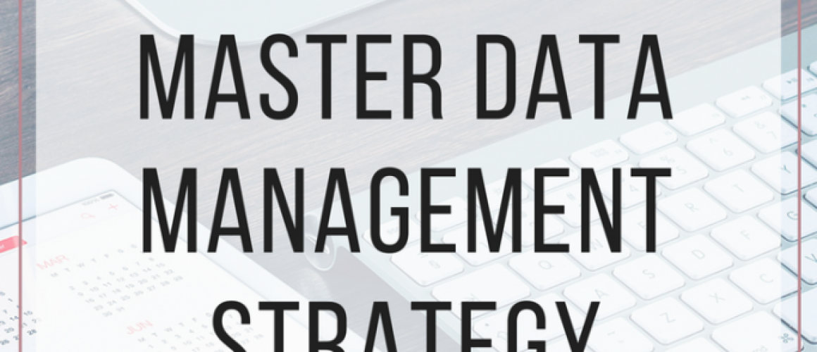 master data management strategy