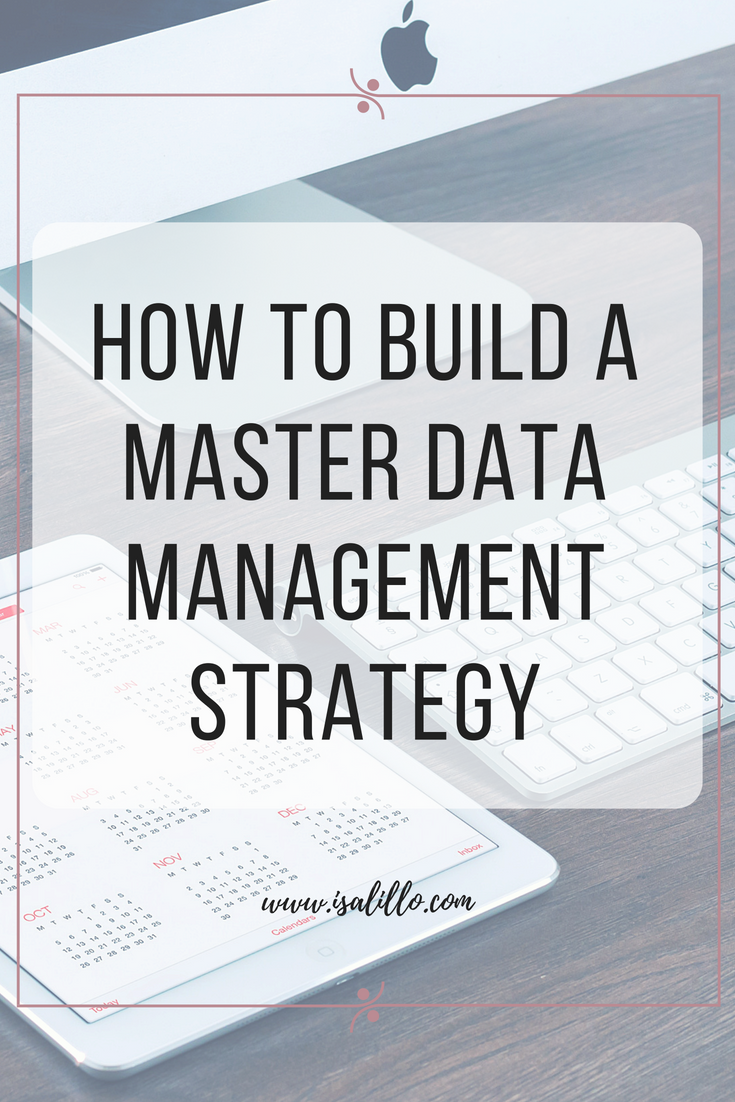 master data management strategy