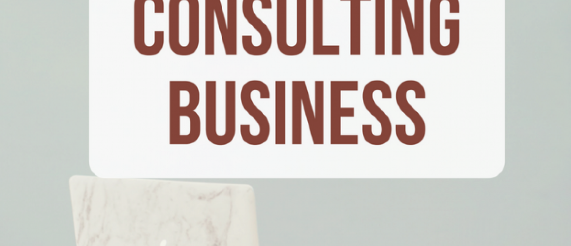 how to stasrt a consulting business