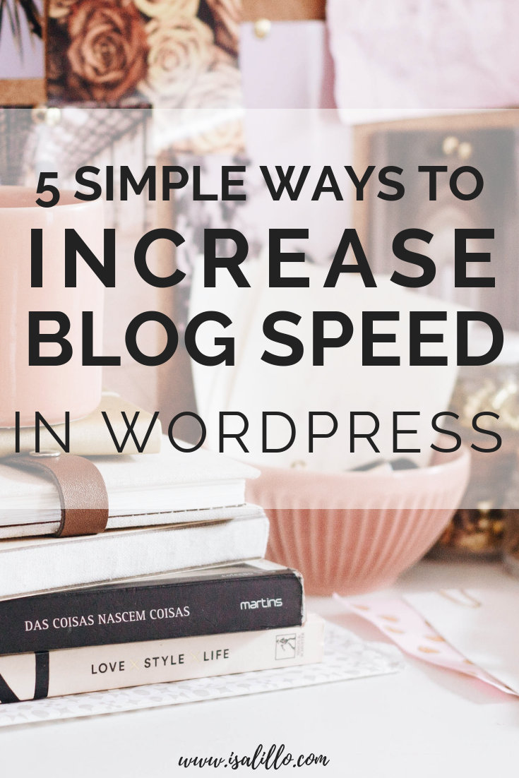 how to increase blog speed